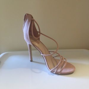 Shoes - Classy strappy mauve heels